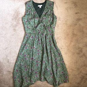 Nordstrom Signature Silk Floral Tea Party Dress
